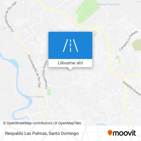 Mapa de Respaldo Las Palmas