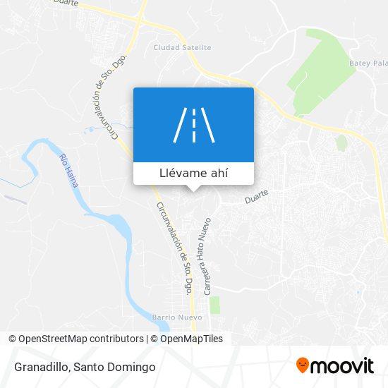 Mapa de Granadillo