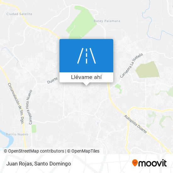 Mapa de Juan Rojas