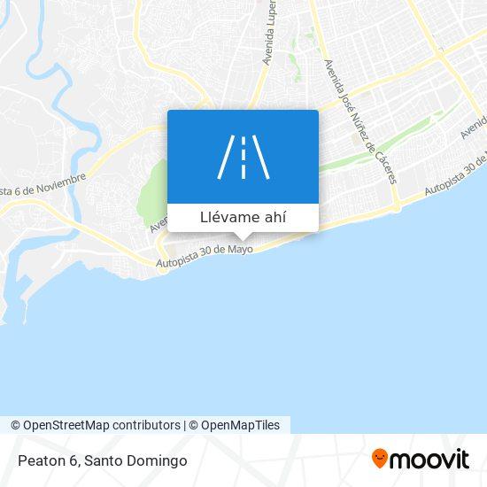 Mapa de Peaton 6