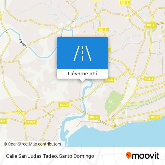 Mapa de Calle San Judas Tadeo