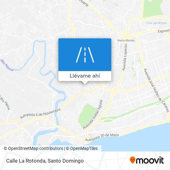Mapa de Calle La Rotonda