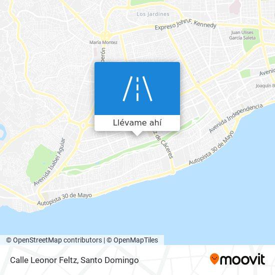 Mapa de Calle Leonor Feltz
