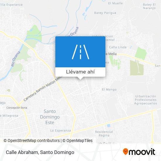 Mapa de Calle Abraham