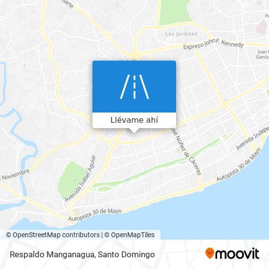 Mapa de Respaldo Manganagua