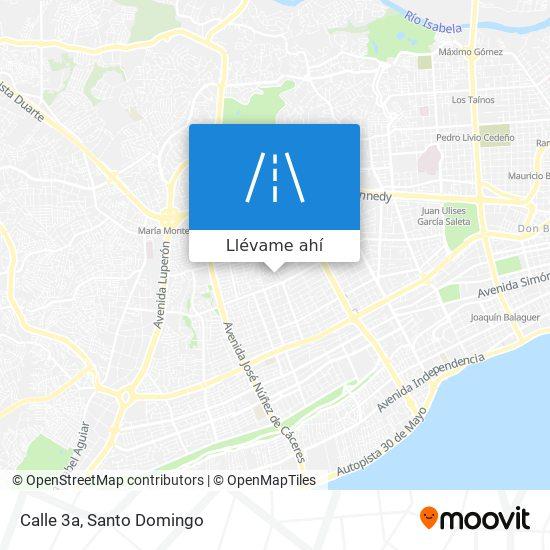 Mapa de Calle 3a