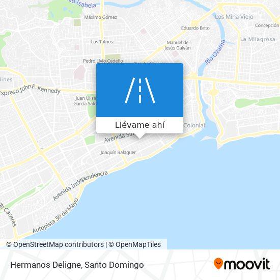 Mapa de Hermanos Deligne