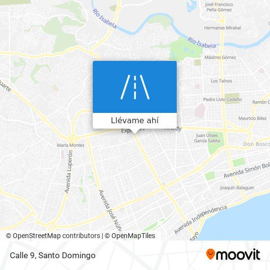 Mapa de Calle 9