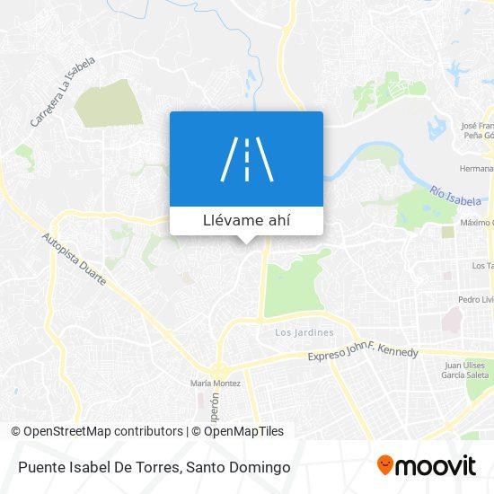 Mapa de Puente Isabel De Torres