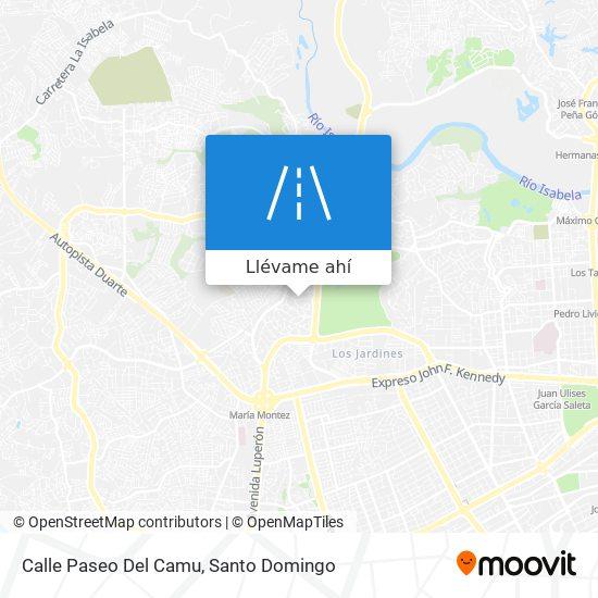 Mapa de Calle Paseo Del Camu