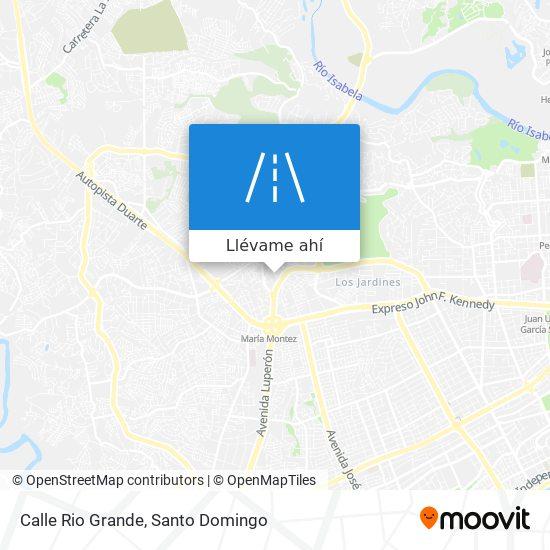Mapa de Calle Rio Grande