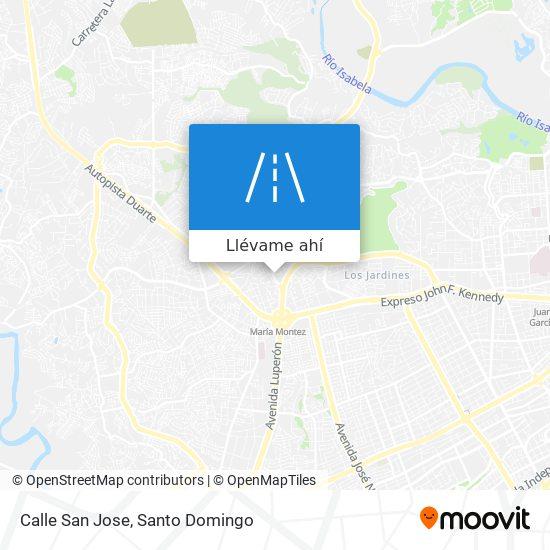 Mapa de Calle San Jose