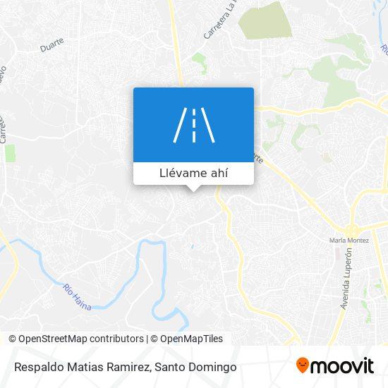 Mapa de Respaldo Matias Ramirez