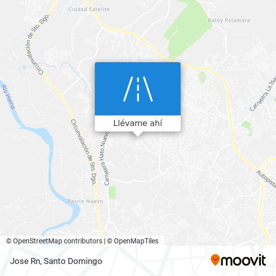 Mapa de Jose Rn