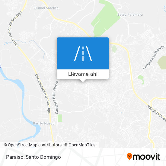 Mapa de Paraiso