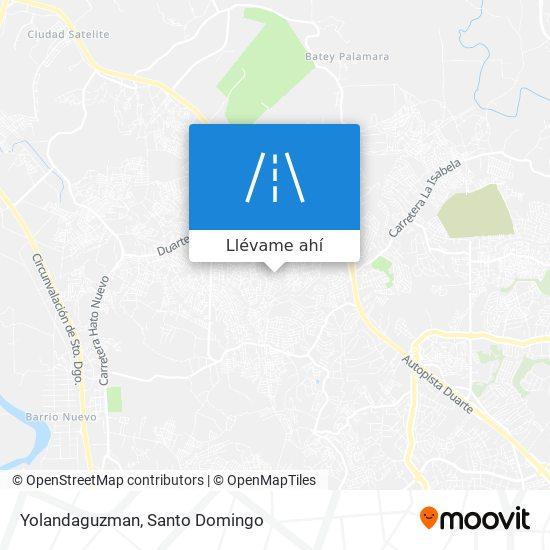 Mapa de Yolandaguzman