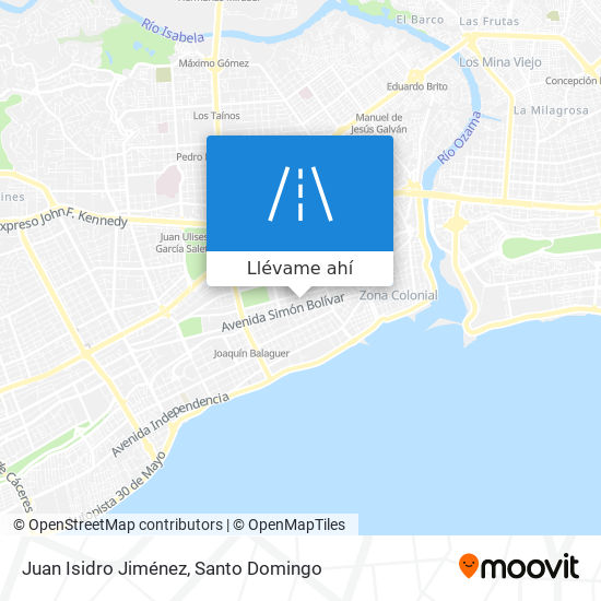 Mapa de Juan Isidro Jiménez