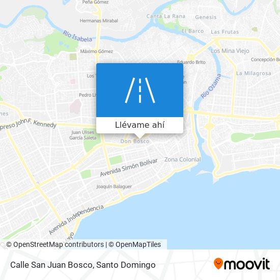 Mapa de Calle San Juan Bosco
