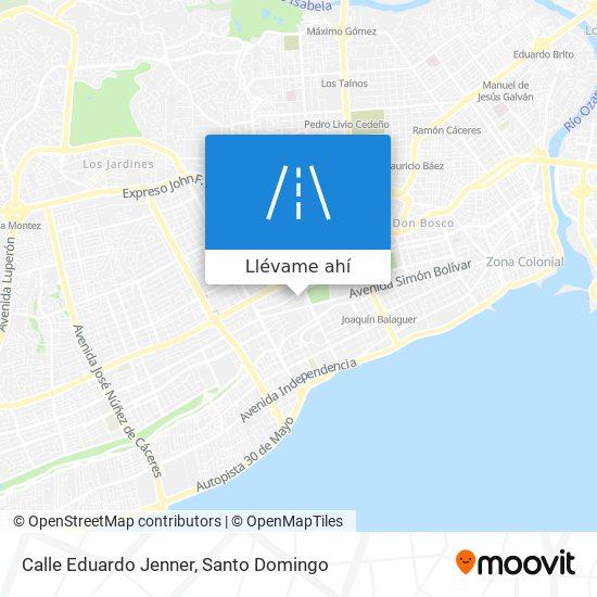 Mapa de Calle Eduardo Jenner