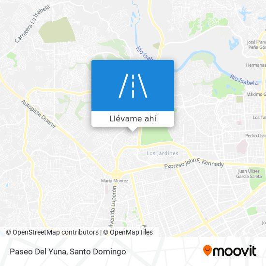 Mapa de Paseo Del Yuna