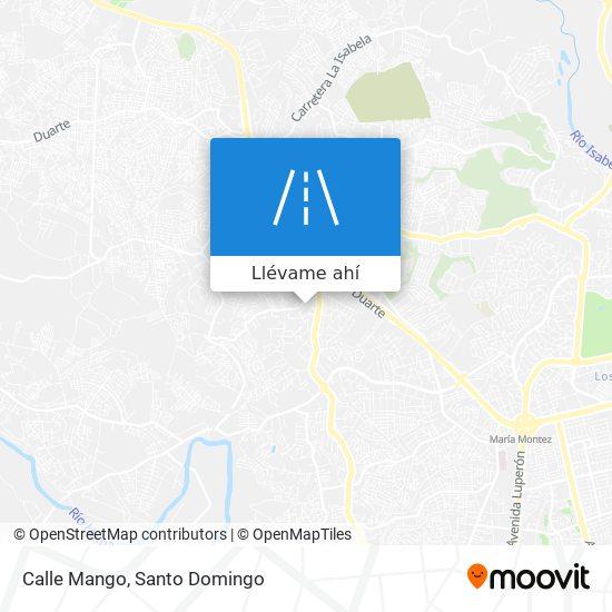 Mapa de Calle Mango