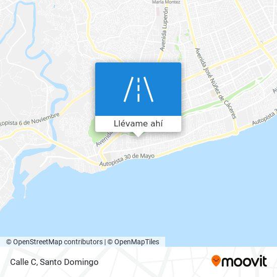 Mapa de Calle C