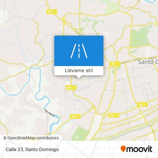 Mapa de Calle 23