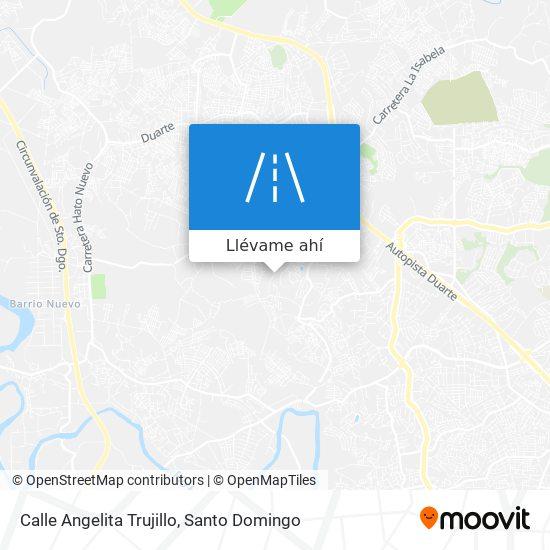 Mapa de Calle Angelita Trujillo