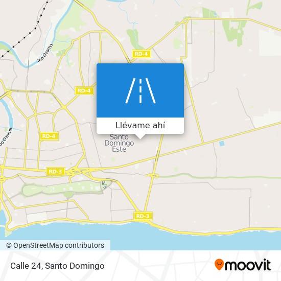 Mapa de Calle 24