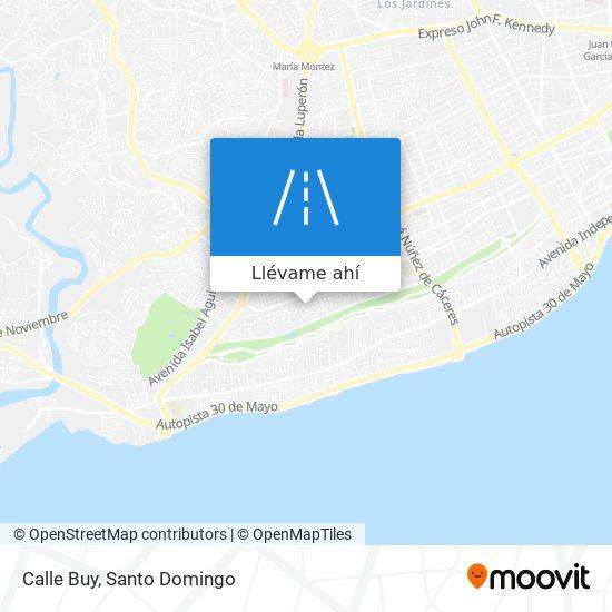 Mapa de Calle Buy