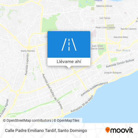 Mapa de Calle Padre Emiliano Tardif