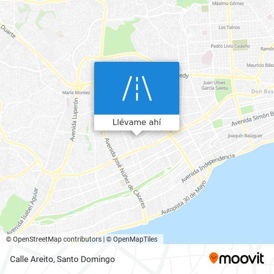 Mapa de Calle Areito