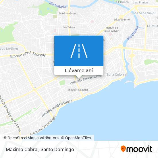 Mapa de Máximo Cabral