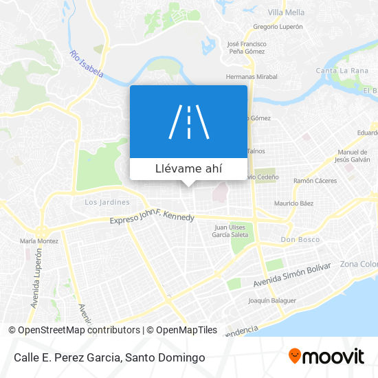 Mapa de Calle E. Perez Garcia
