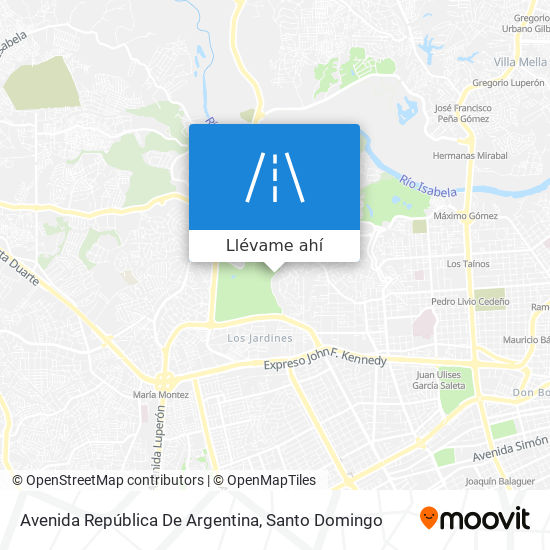 Mapa de Avenida República De Argentina