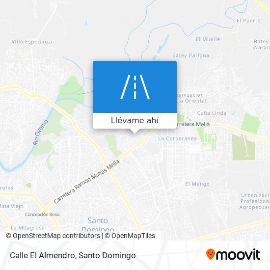 Mapa de Calle El Almendro
