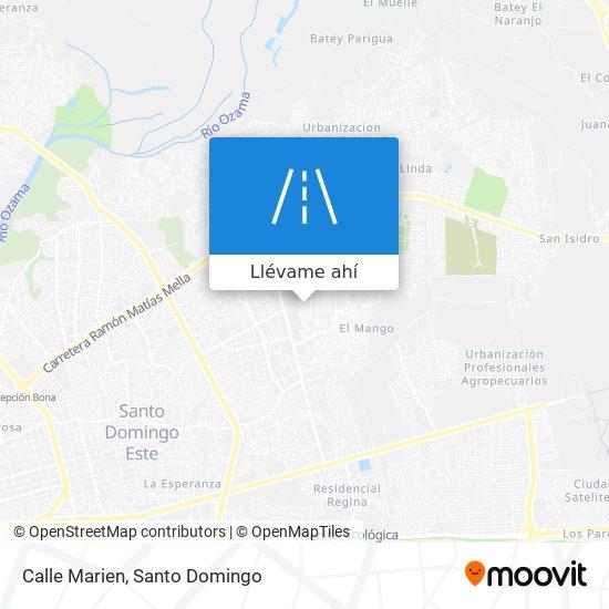 Mapa de Calle Marien