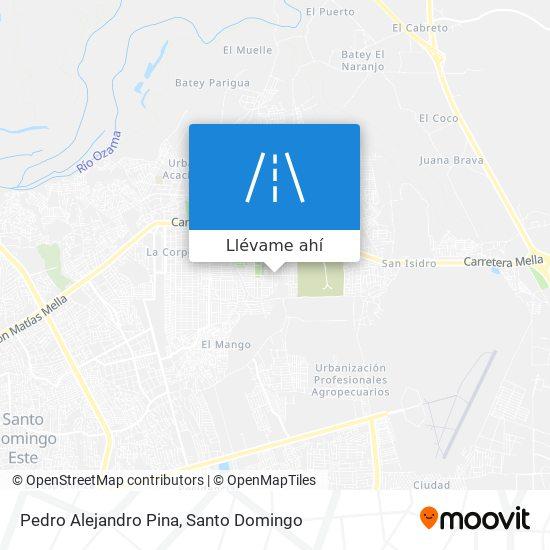 Mapa de Pedro Alejandro Pina