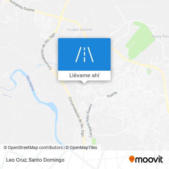 Mapa de Leo Cruz