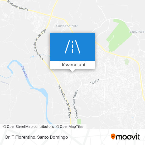 Mapa de Dr. T Florentino
