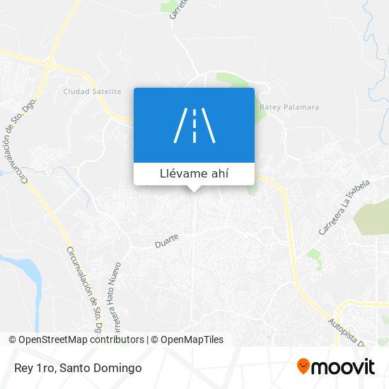 Mapa de Rey 1ro