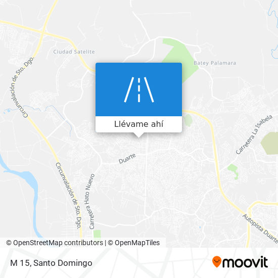 Mapa de M 15