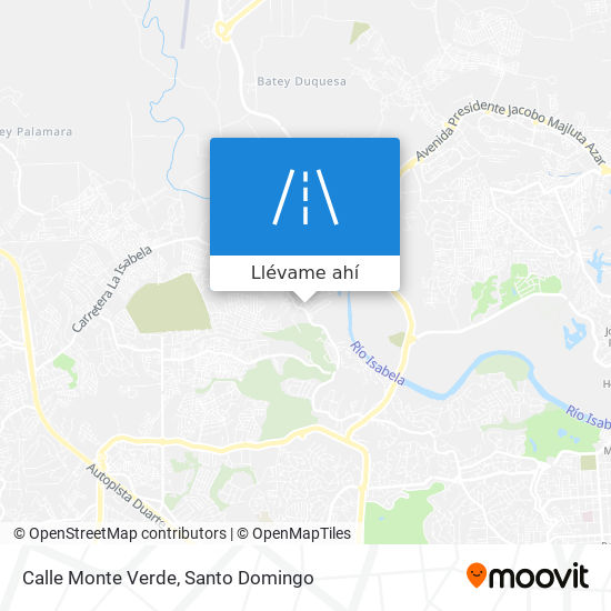 Mapa de Calle Monte Verde