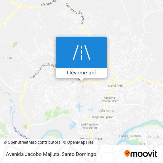 Mapa de Avenida Jacobo Majluta