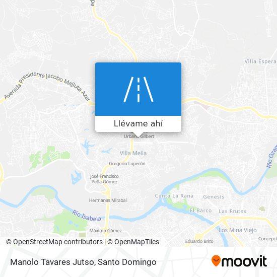Mapa de Manolo Tavares Jutso