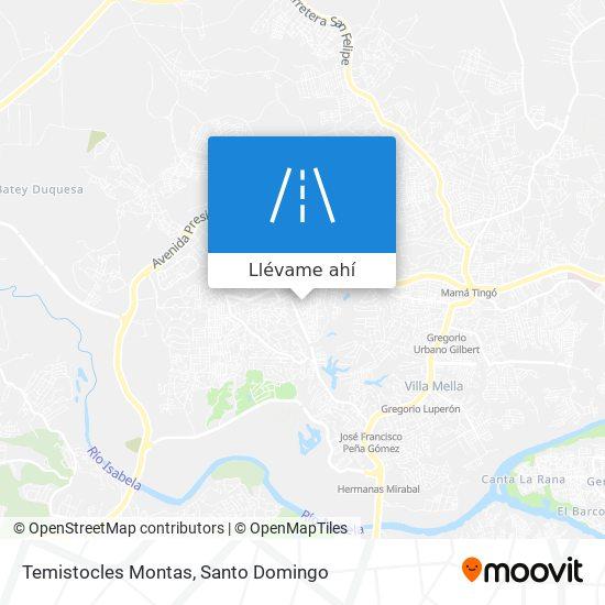 Mapa de Temistocles Montas
