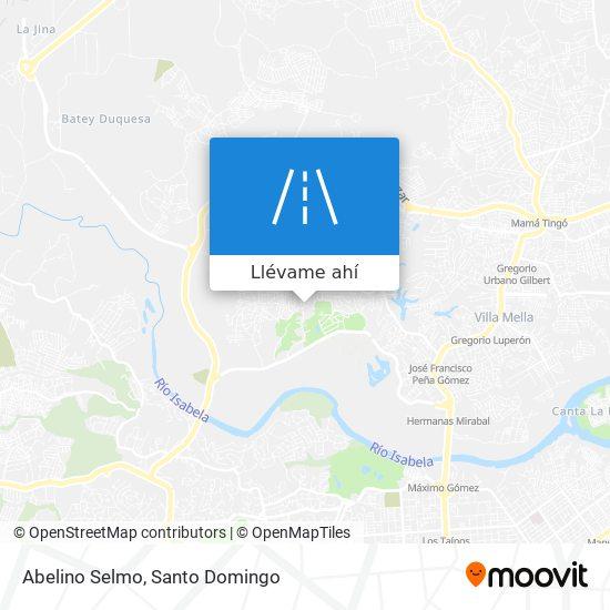 Mapa de Abelino Selmo