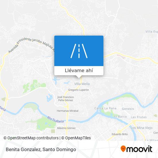 Mapa de Benita Gonzalez