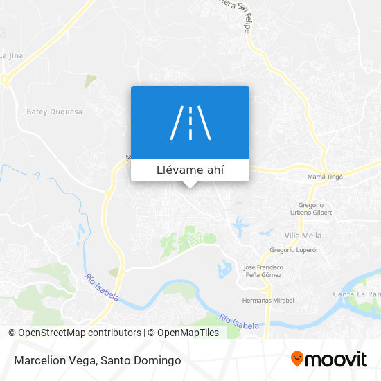 Mapa de Marcelion Vega