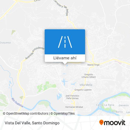 Mapa de Vista Del Valle
